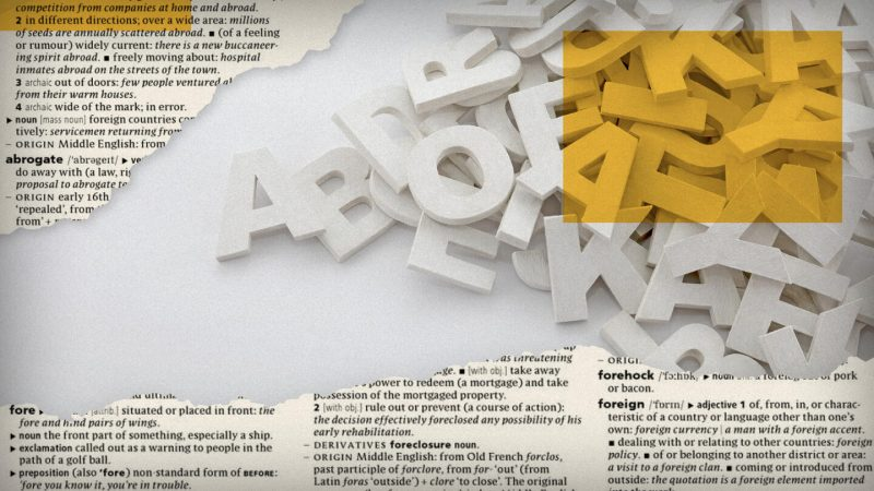 slovná zásoba angličtiny