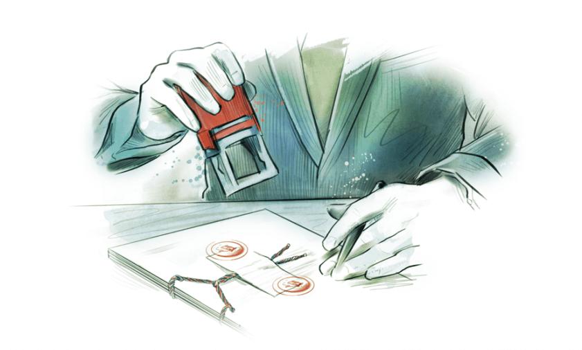 Translata ilustrácia - úradný prekladateľ s pečiatkou