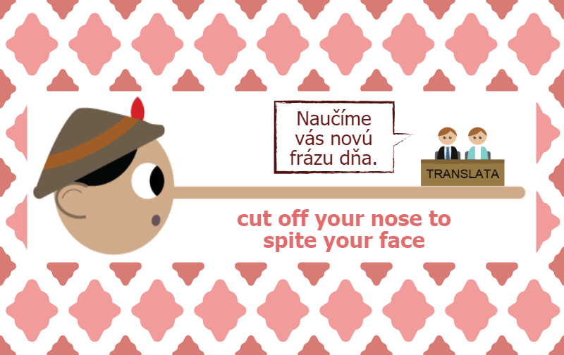 cut off your nose to spite your face infografika